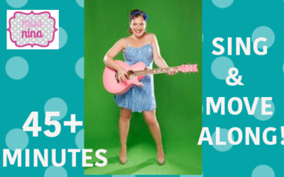 45+ Minutes of non-stop Miss Nina Sing-Along and Action Songs