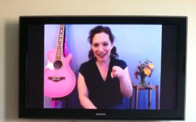 Online Sing-Along Thursday & The Hokey Pokey TODAY