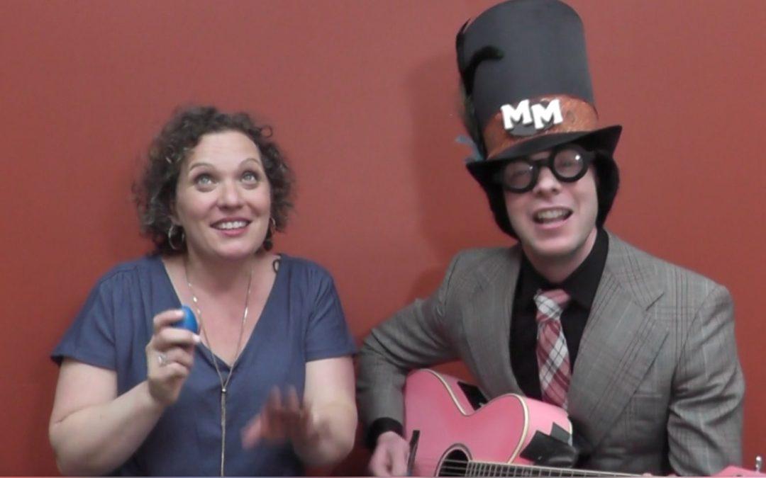 Nursery Rhyme Rock with Marky Monday!