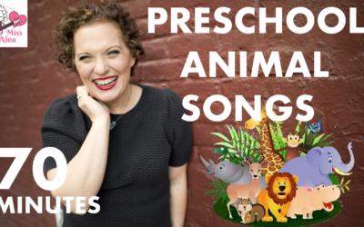 Preschool Animal Songs – 70 Minutes of Non-Stop Sing & Move Along Fun
