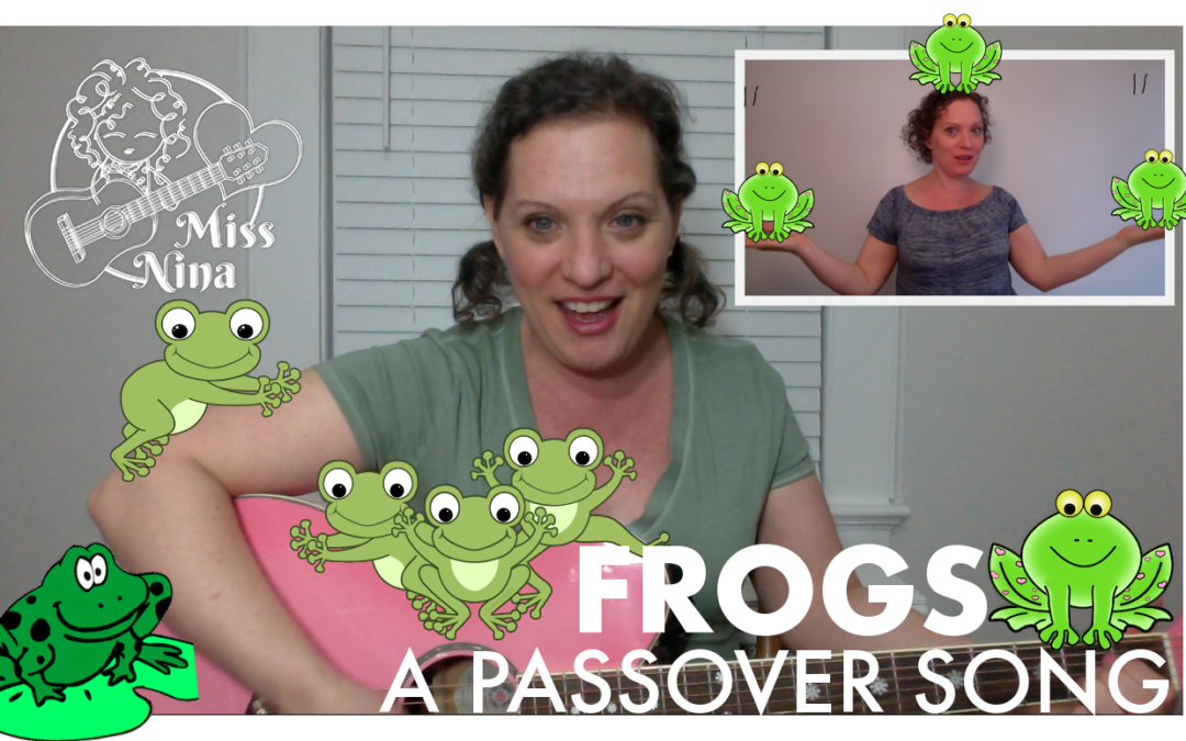 Preschool Passover & Easter Songs: Frogs! + Peter Cottontail
