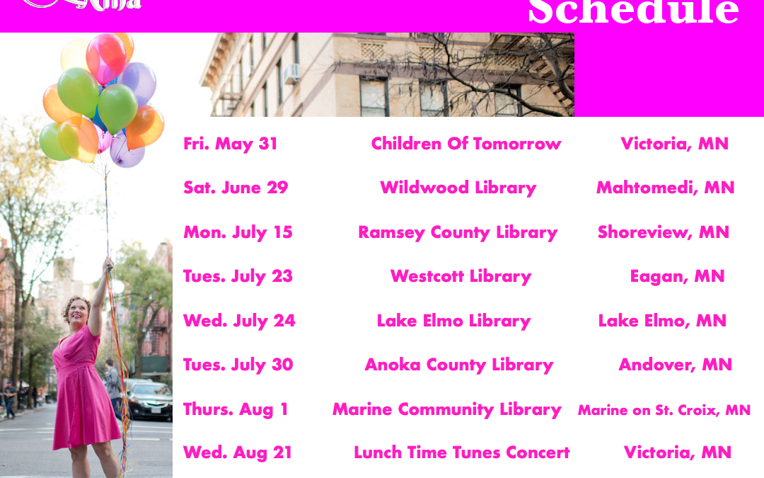 Here Comes Summer! Tour Schedule & Summer Songs – Baby Bumblebee, Baby Shark and More!