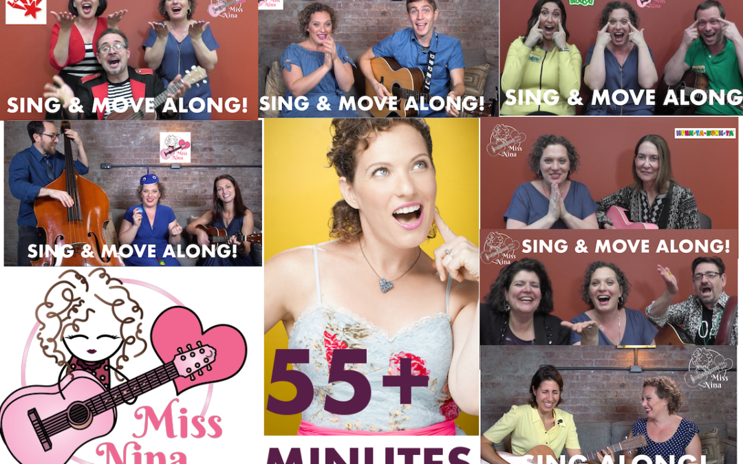 55+ Minutes of Non-Stop songs with Miss Nina & Friends!