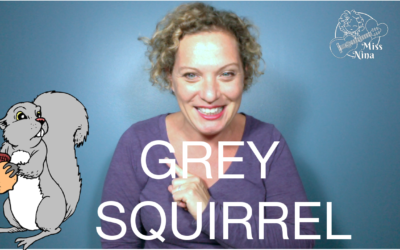Grey Squirrel – Simple Fall Preschool Movement Song