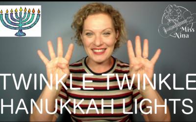 Twinkle Twinkle Hanukkah Lights – Preschool Hanukkah Move-Along Song