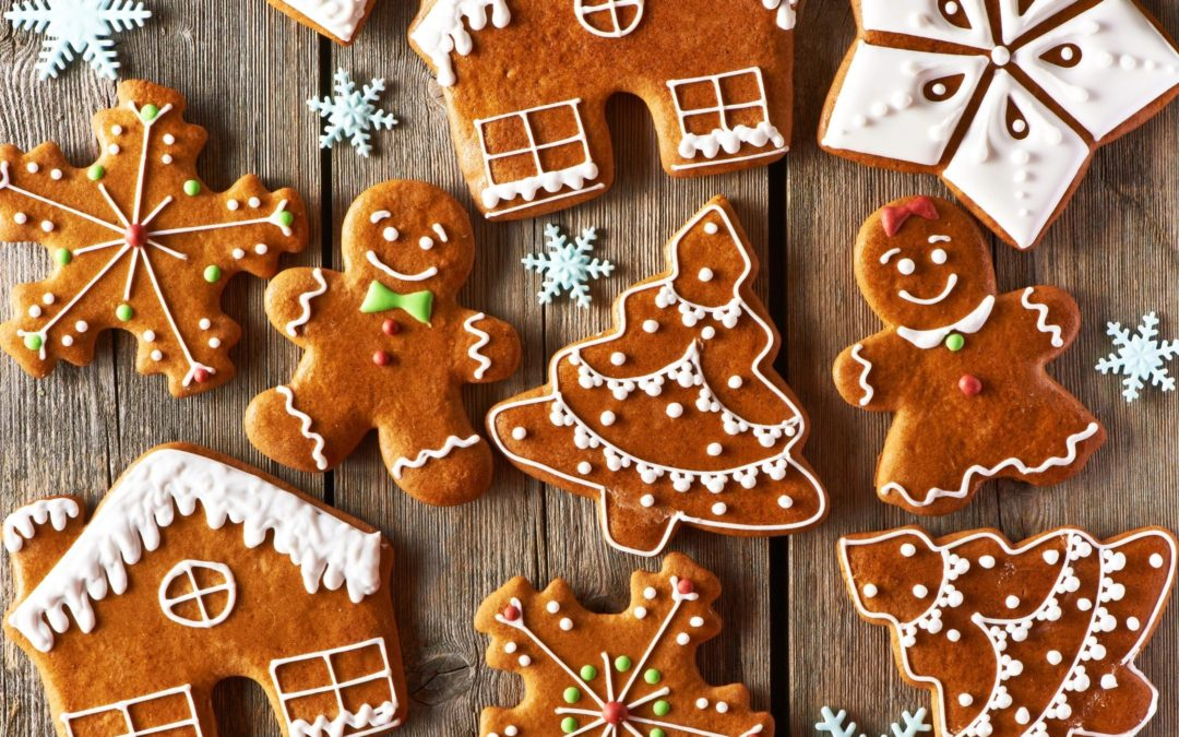 Gingerbread Men! A Holiday Action Rhyme for Preschoolers & Toddlers