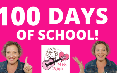 100th Day Of School Song/Chant for Kids – 100 Days Of School Celebration