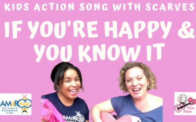 If You're Happy & You Know It – Move Along with Miss Nina & JAMaROO Kids!