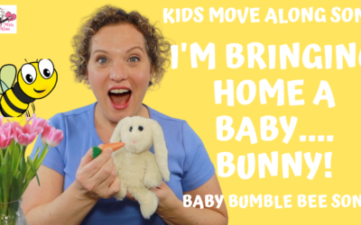 I'm Brining Home A Baby…Bunny! New Twist on the Baby Bumble Bee Song