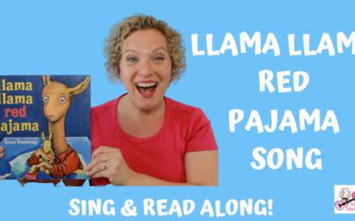 Llama Llama Red Pajama | Children's Book Song | Read & Sing Along!