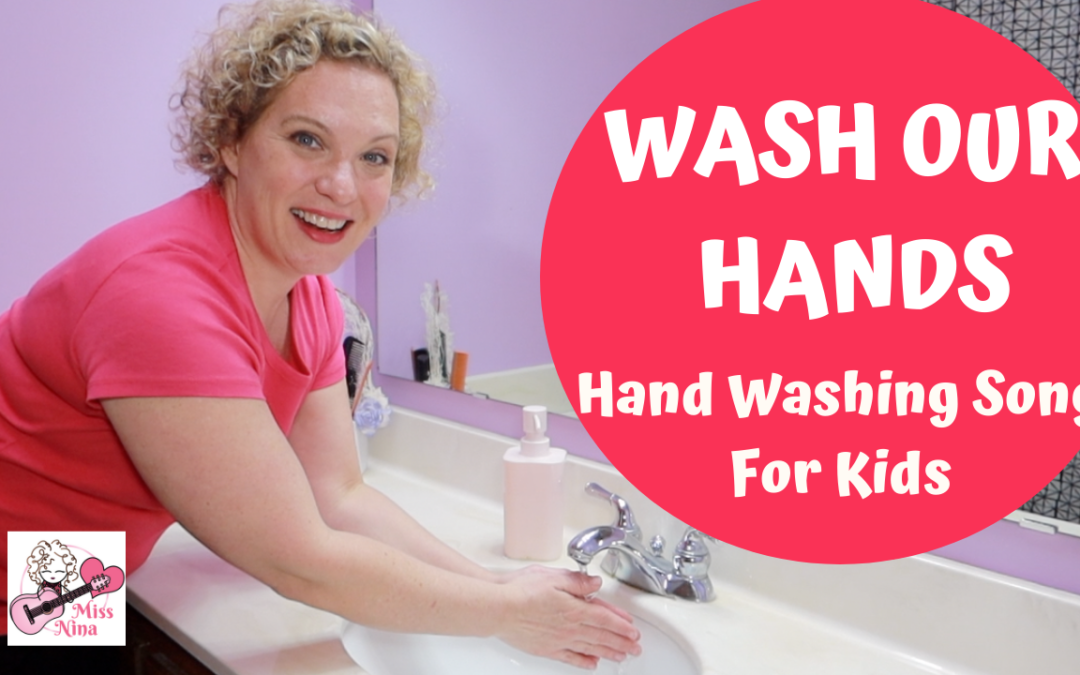 Hand Washing Song for Kids + DAILY ONLINE SING-ALONGS!