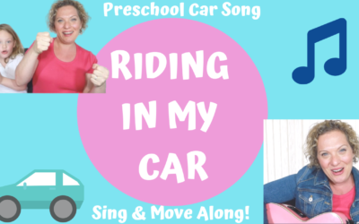 Preschool Car Song – Riding In My Car – Driving Song for Kids by Miss Nina