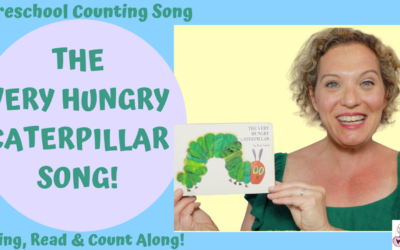 The Very Hungry Caterpillar Song | Preschool Counting Song for Kids | Alice The Camel Tune