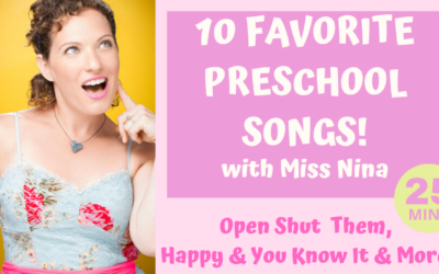 10 Favorite Preschool Movement Songs | Open Shut Them, Happy and You Know It + More