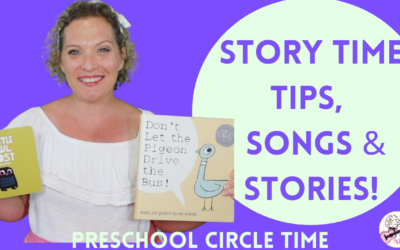 Preschool Circle Time Series  | Story Time Tips, Songs & Stories | Don't Let the Pigeon & Little Owl Lost