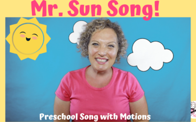 Mr. Sun Song! Preschool Song with Motions | Miss Nina Music & Movement