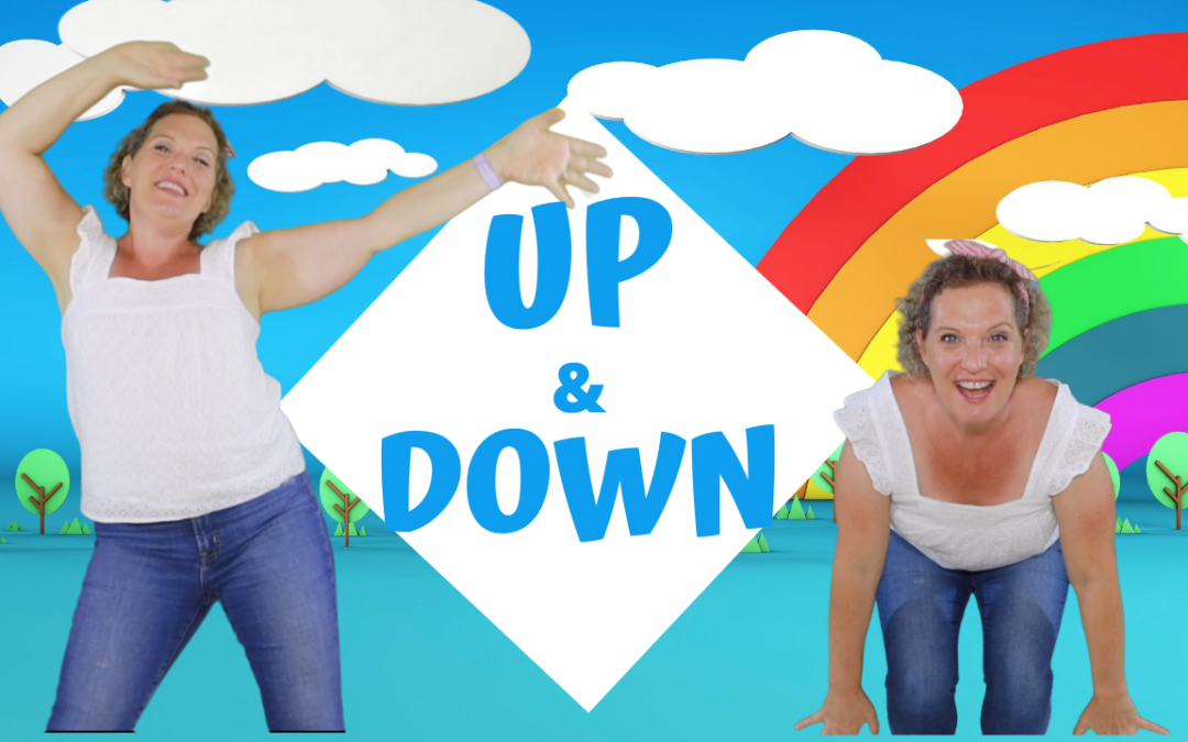 Up and Down | Preschool Hip-Hop Action Song for Kids! Let's Get MOVING!