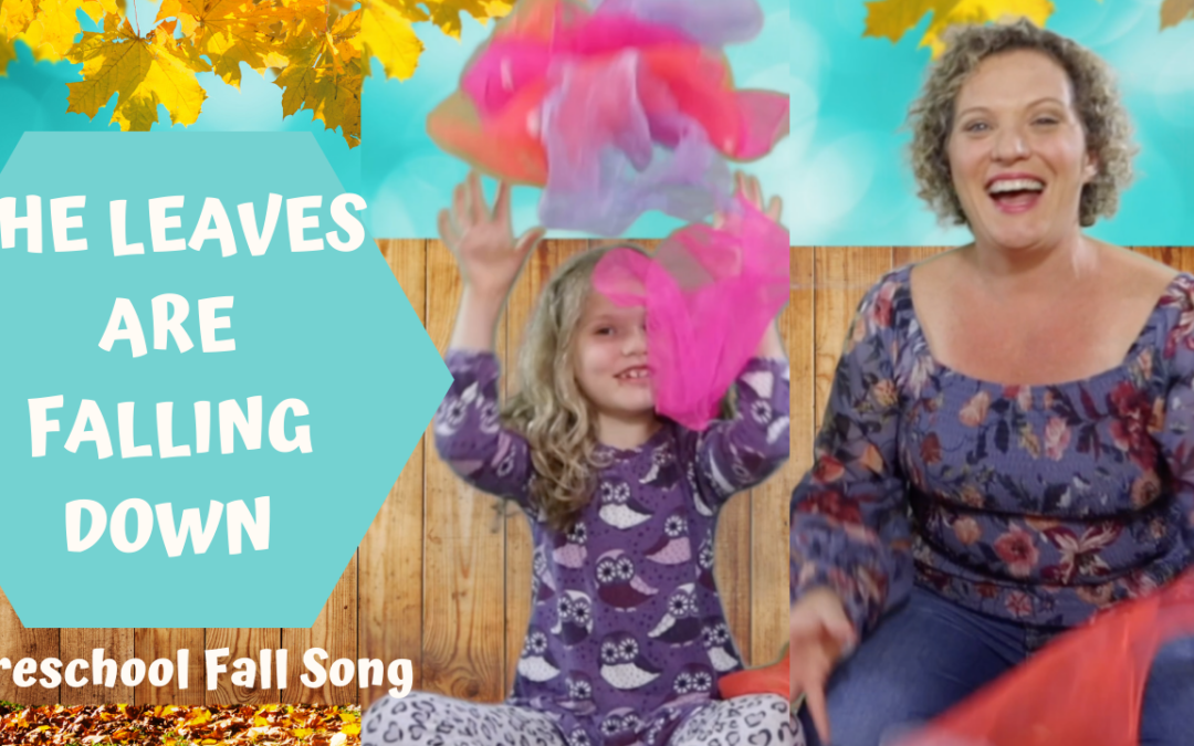 Preschool Fall Song and Movement Activity | The Leaves Are Falling Down |
