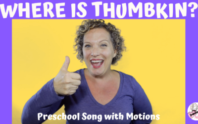 Where is Thumbkin? | Preschool Song with Motions