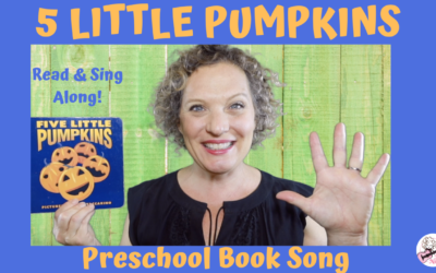 5 Little Pumpkins | Book Song for Preschool Kids to Read and Sing Along To!